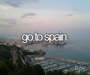 spain, before i die, and travel image