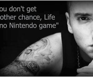 eminem, game, and quote image