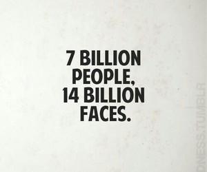 face, false, and true image