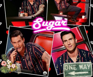 Hot, maroon 5, and the voice image