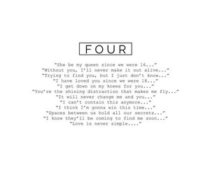 four, one direction, and 1d image