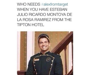 funny, esteban, and alexfromtarget image