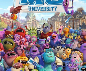 disney, monsters, and mike image