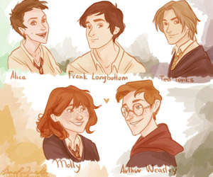 harry potter, weasley, and marauder's image