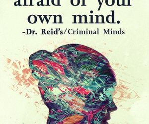 mind, quotes, and afraid image