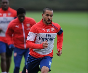 Arsenal and theo walcott image