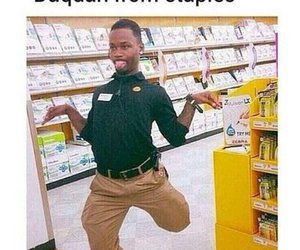 funny, staples, and alex from target image