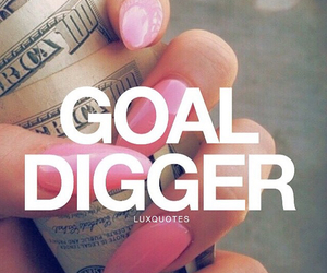 goals, quote, and money image