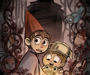 over the garden wall, wallpaper, and otgw image