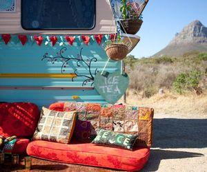 bohemian, Caravan, and colors image