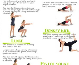 workout, bum workout, and quick workout image