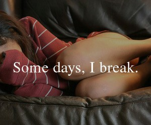 break, broken, and girl image