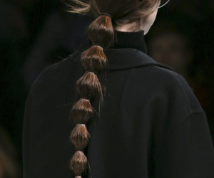 fashion, Valentino, and hair image