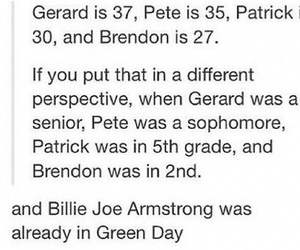 bands, brendon urie, and gerard way image