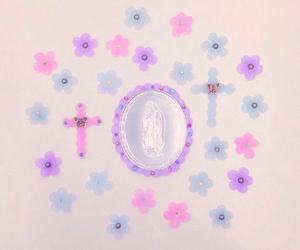 flowers, pastel, and cute image