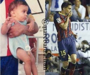 baby, soccer, and football image