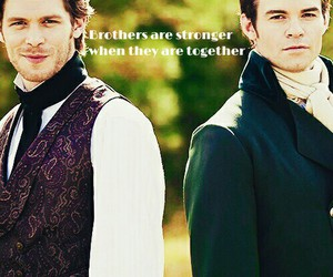 brothers, joseph morgan, and klaus mikaelson image