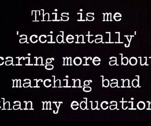 marching band and band geeks image