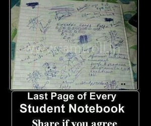 student and notebook image