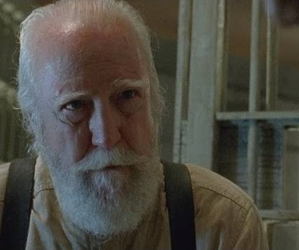the walking dead, hershel, and the prison image