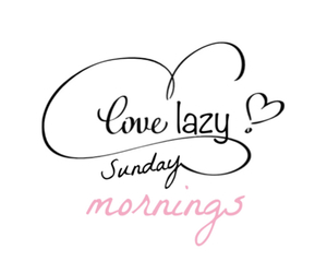 Sunday, Lazy, and love image