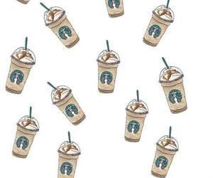 starbucks, wallpaper, and coffee image