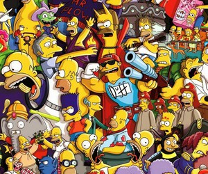 logos, simpson, and wow image