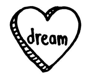 heart, transparent, and Dream image