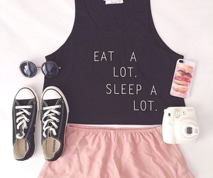 eat, quotes, and sleep image