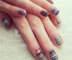 aztec, colors, and girly image