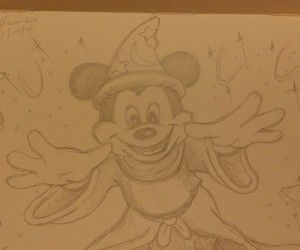 disney, drawing, and illustration image