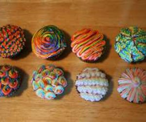 awesome, colorful, and cupcakes image