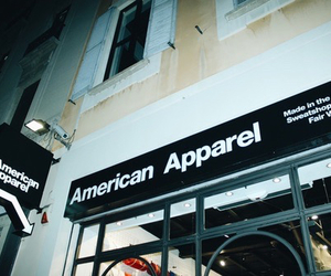 american apparel, shopping, and teens image
