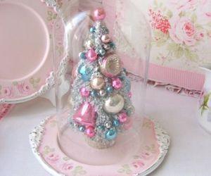 christmas and pastel image