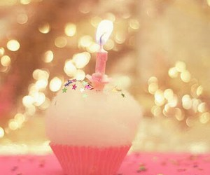 cupcake and candle image