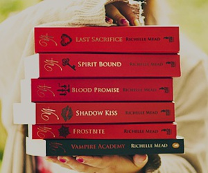 books, richelle mead, and shadow kiss image