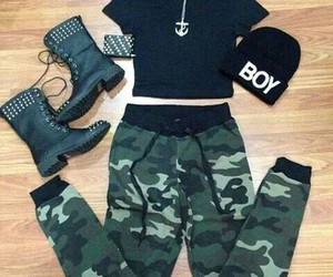 fashion, boy, and boots image