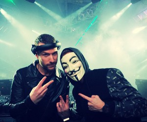 anonymous, show, and nicky romero image