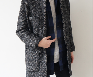 autumn, checked, and lookbook image