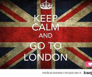 london, keep calm, and england image