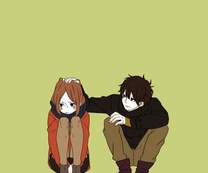 amor, anime, and girl and boy image