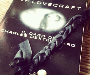 book, Lovecraft, and books image