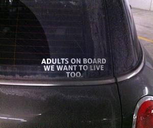 car, funny, and Adult image