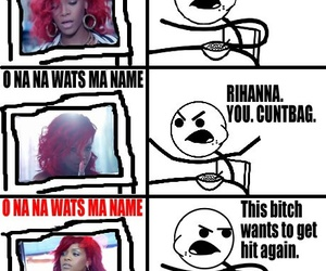 rihanna, funny, and cereal guy image