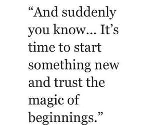 beginning, magic, and new image