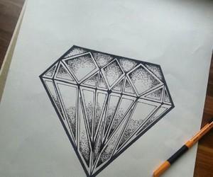diamond, drawing, and draw image