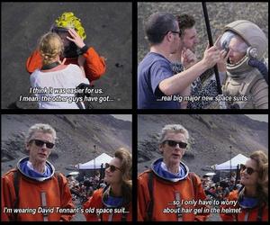david tennant, doctor who, and peter capaldi image