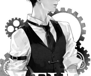 attack on titan, levi, and anime image