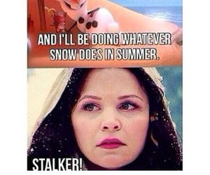 frozen, olaf, and snow white image