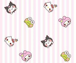 hello kitty, my melody, and cute image